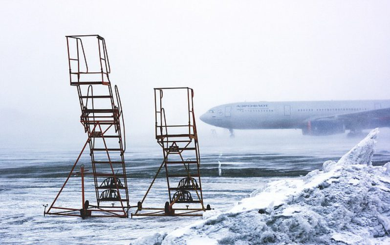 Airport Blizzard