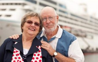 Elderly Couple on Vacation
